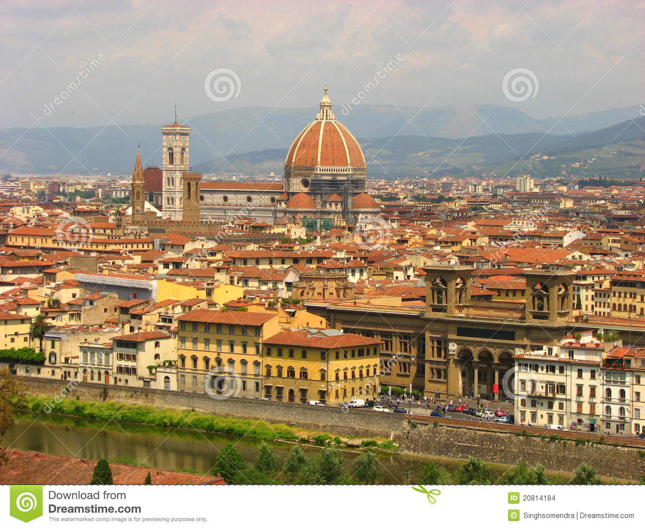 Panorama of florence tuscany italy stock images image for Is florence in tuscany