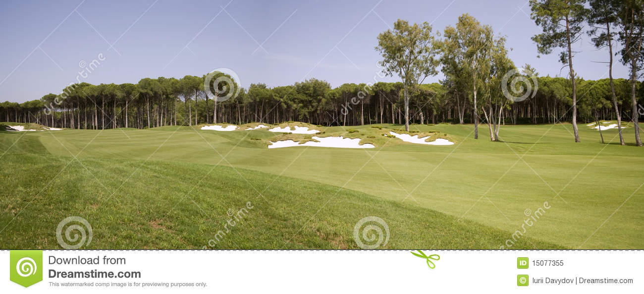Panorama Of Golf Club Royalty Free Stock Photo - Image ...