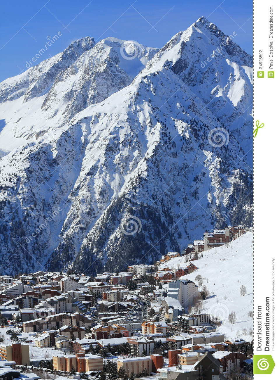 Panorama of the hils and hotels les deux alpes france for Hotels 2 alpes
