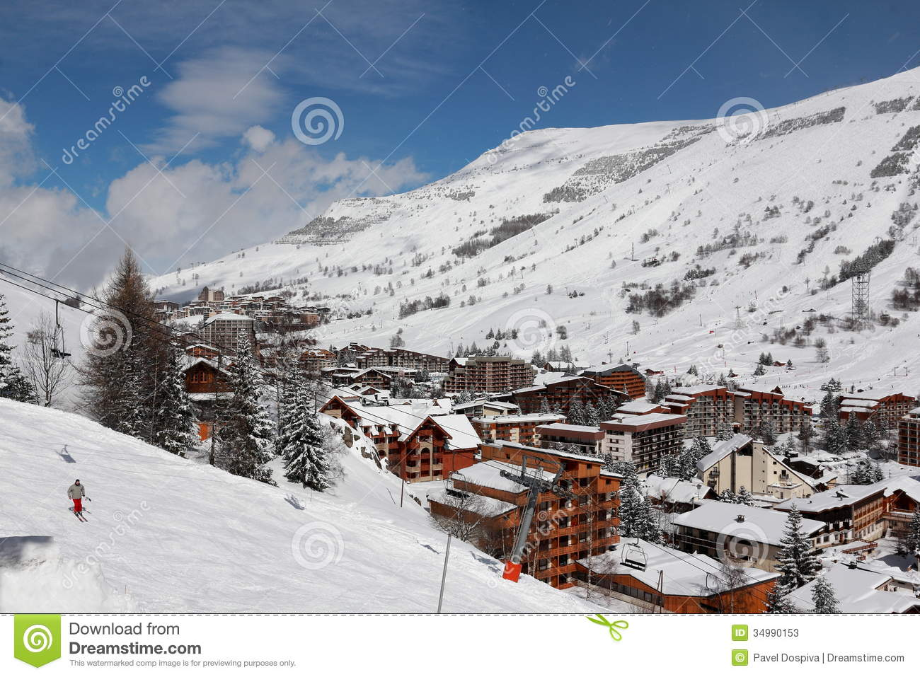 Panorama of the hotels les deux alpes france french for Les hotels francais