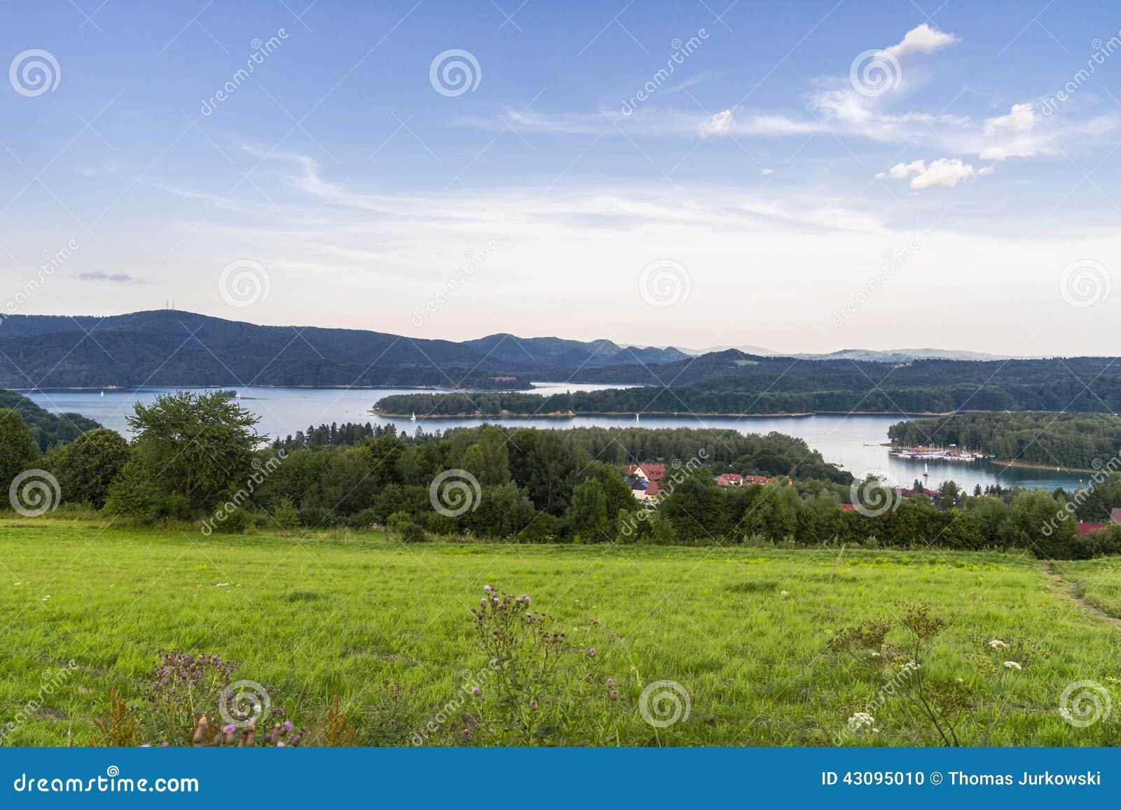 Panorama jezioro