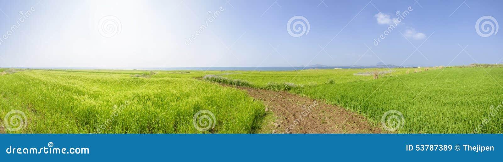 Panorama krajobraz Gapado wyspa