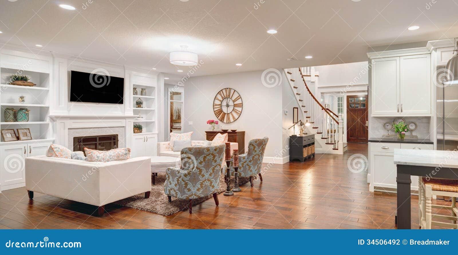 Panorama lussuoso del salone