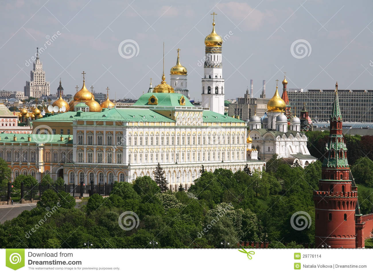 The Moscow Kremlin architectural ensemble: description, history and interesting facts 17
