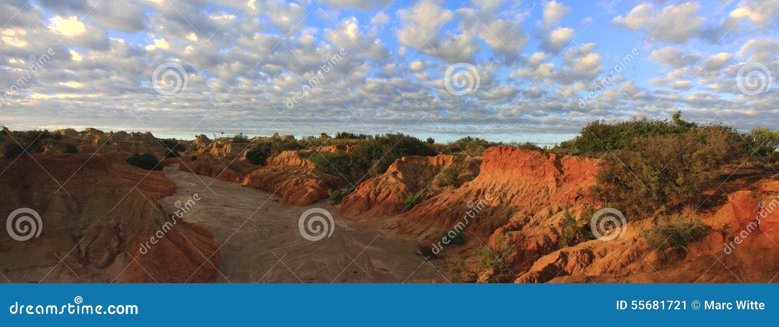 Panorama - Mungonationalpark, NSW, Australien