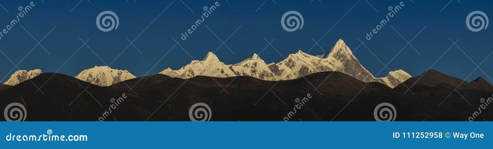 The panorama of Namjagbrawa