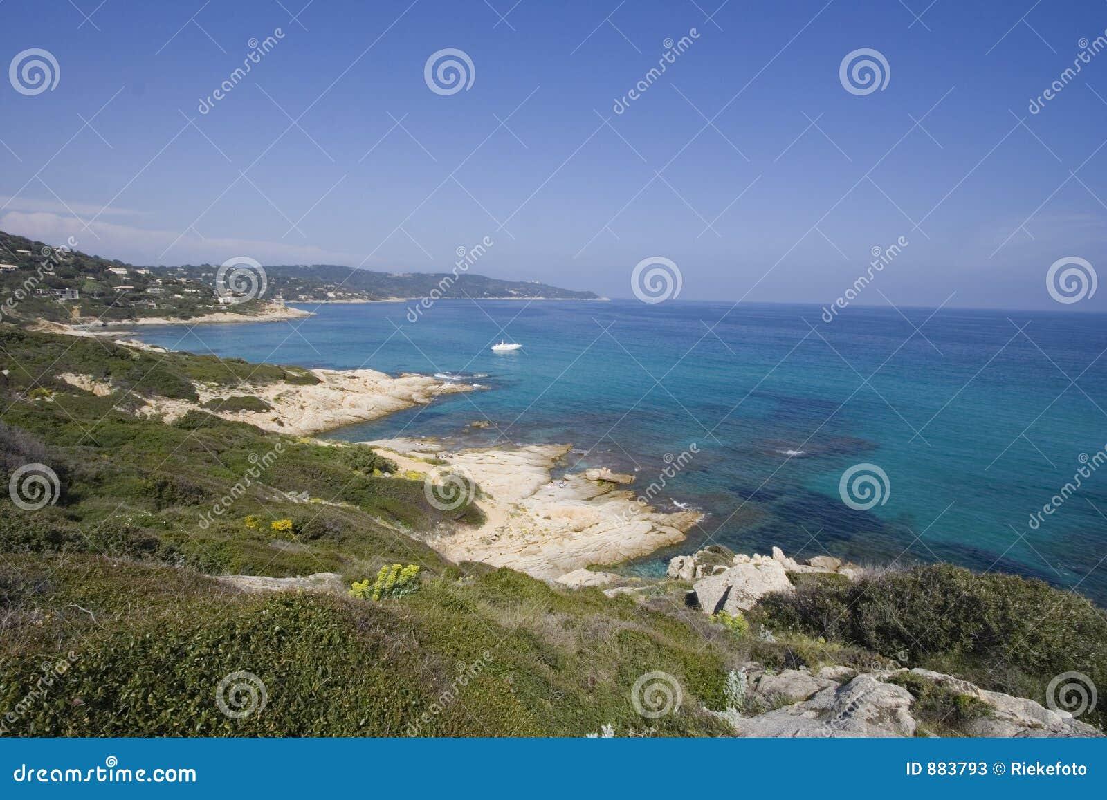 Panorama ocean lazurowa