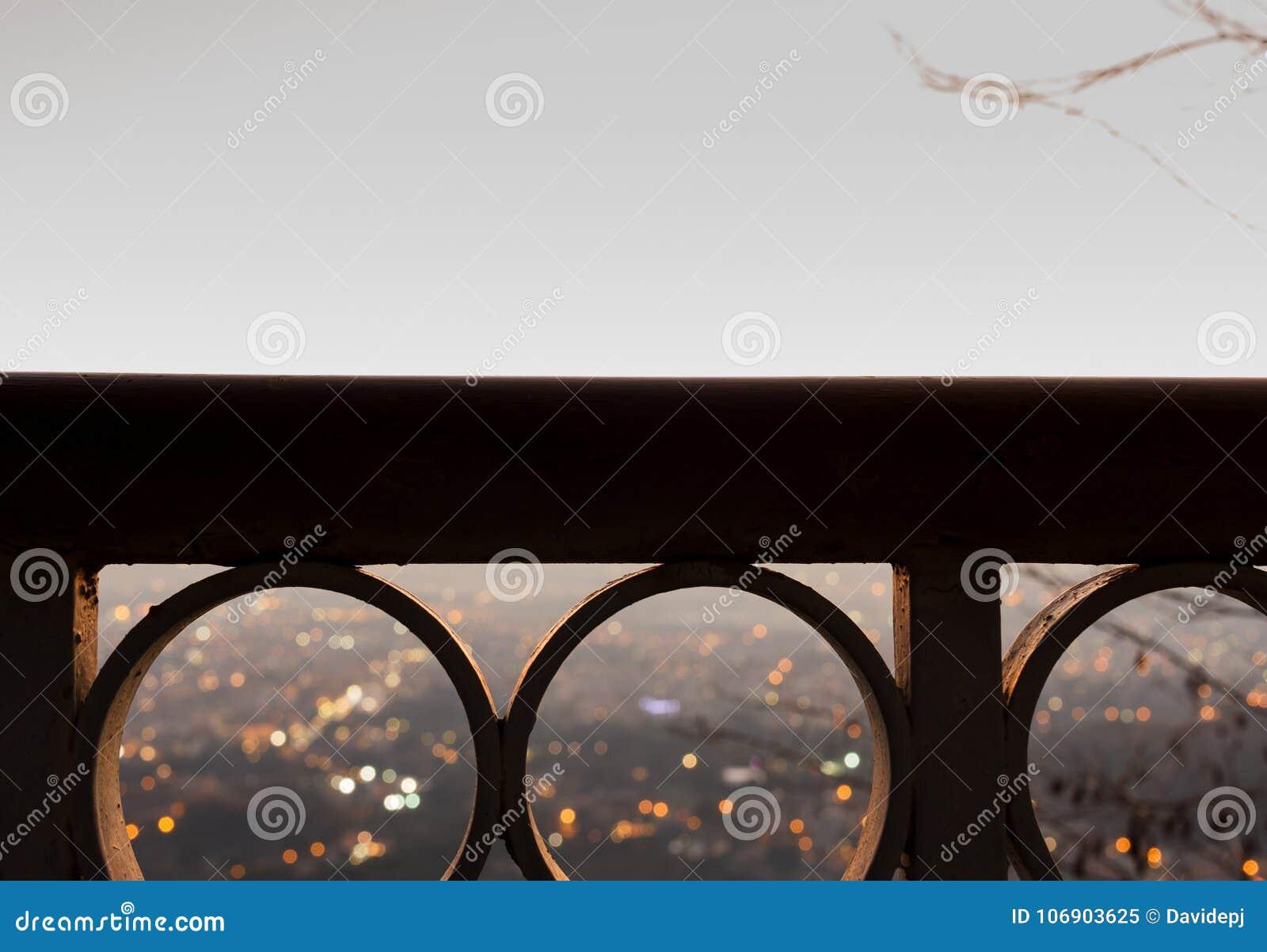 Panorama od balkonu