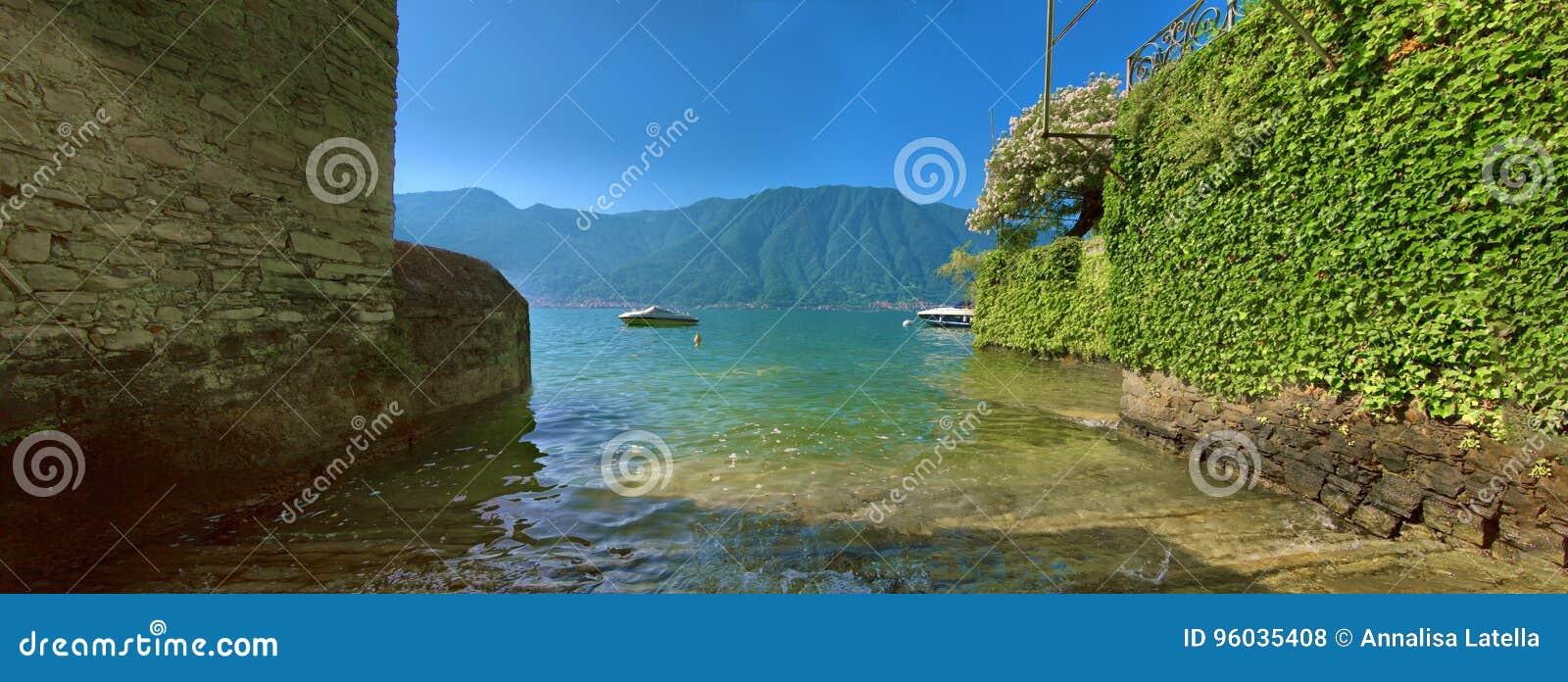 Panorama od Ossuccio, Jeziorny Como