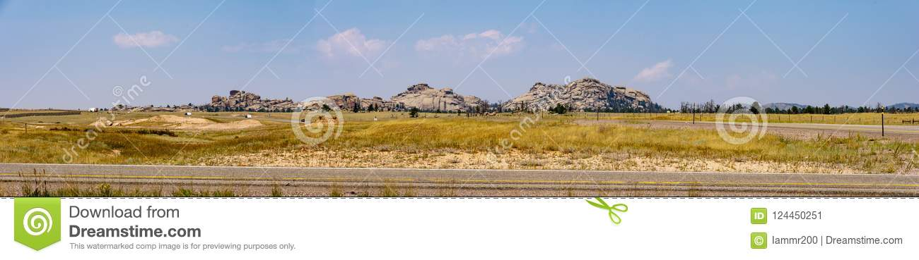 Red Rock Formations - Wyoming Panorama Photograph by John