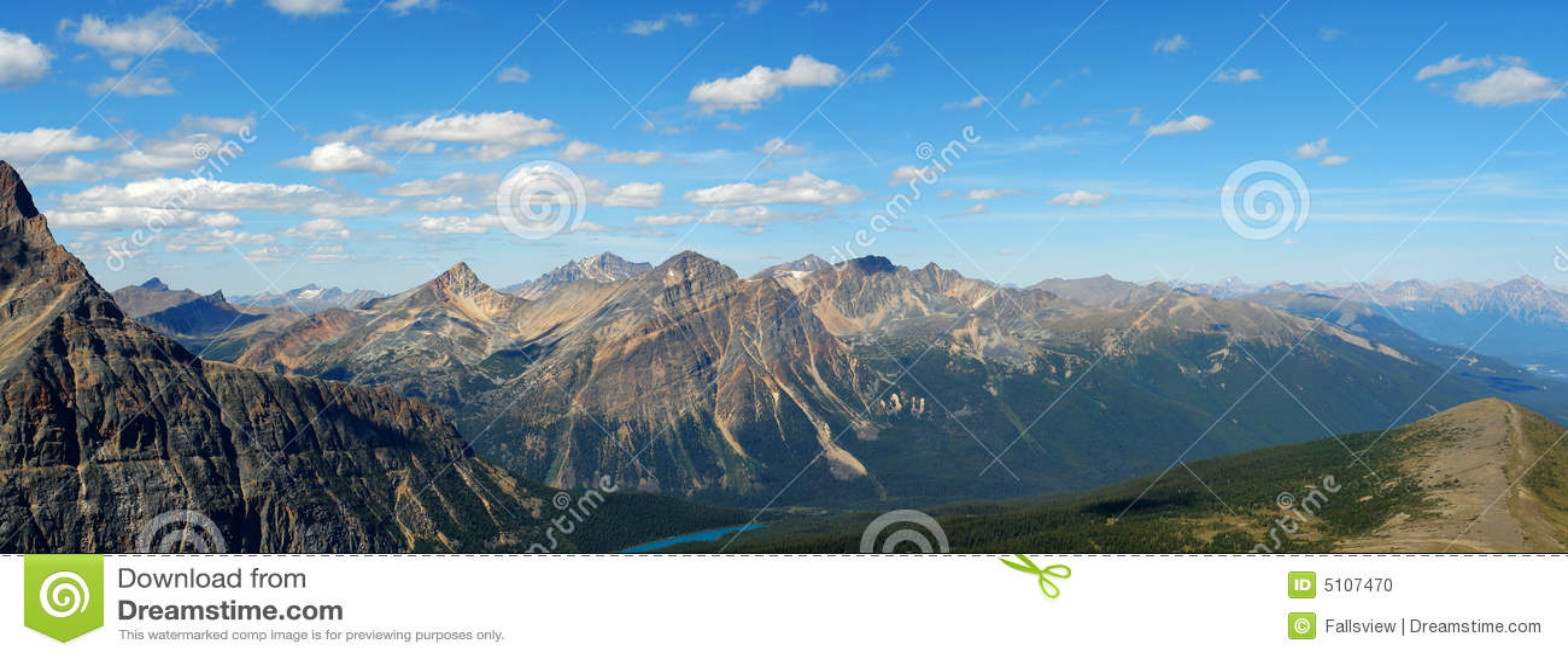 Panorama   rocky góry