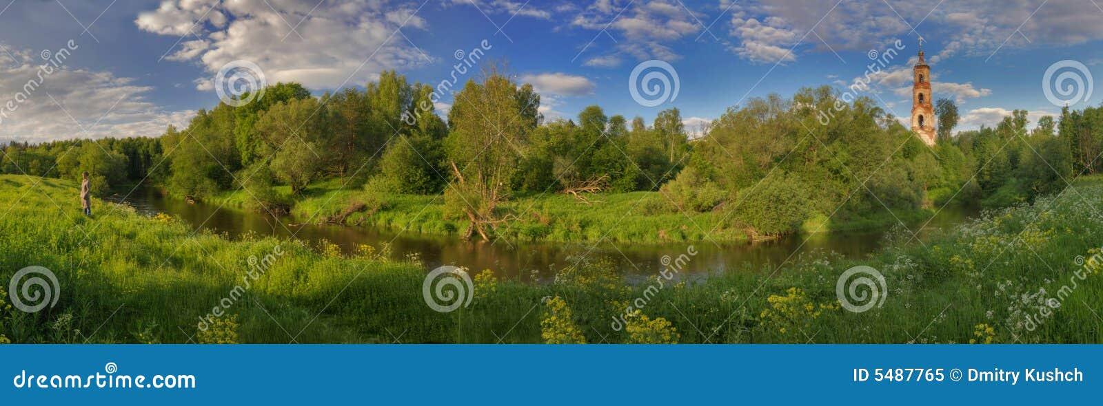 Panorama Rosji latem