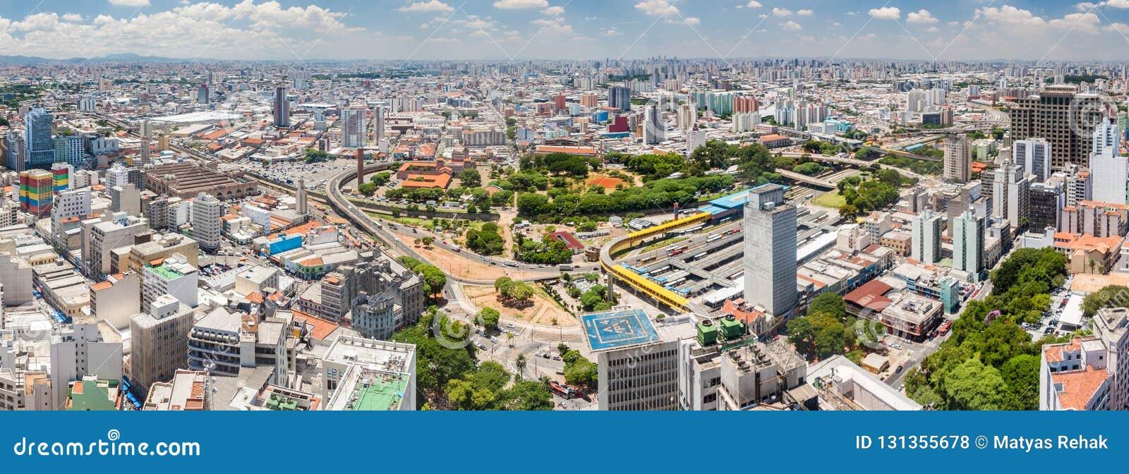 Panorama São Paulo fonte: thumbs.dreamstime.com