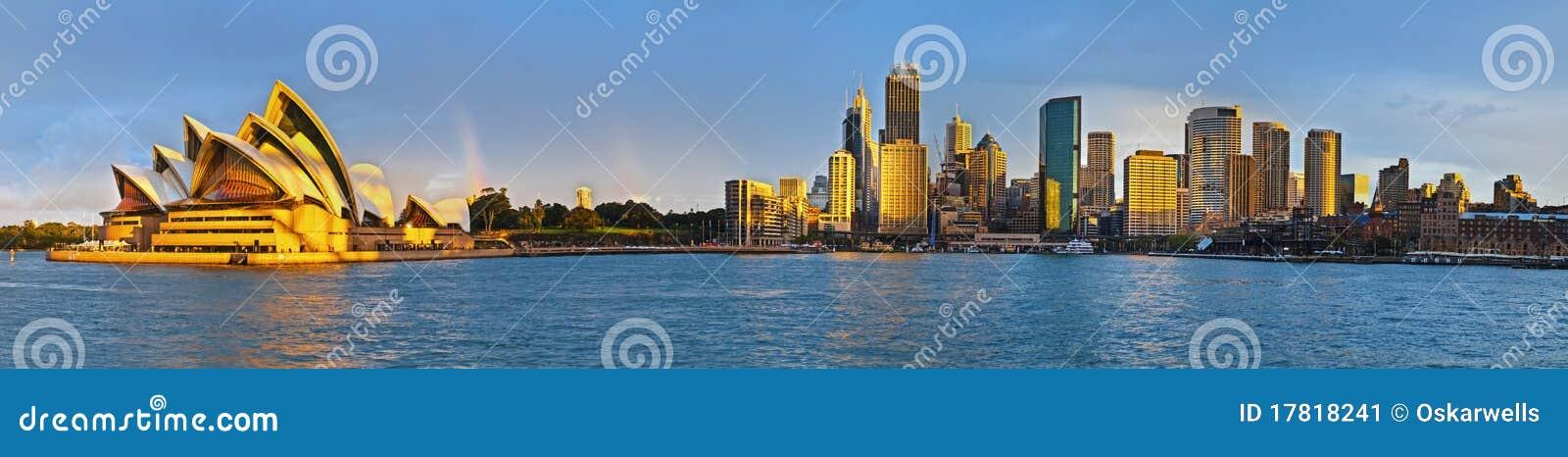 Panorama supplémentaire de quai circulaire de Sydney grand