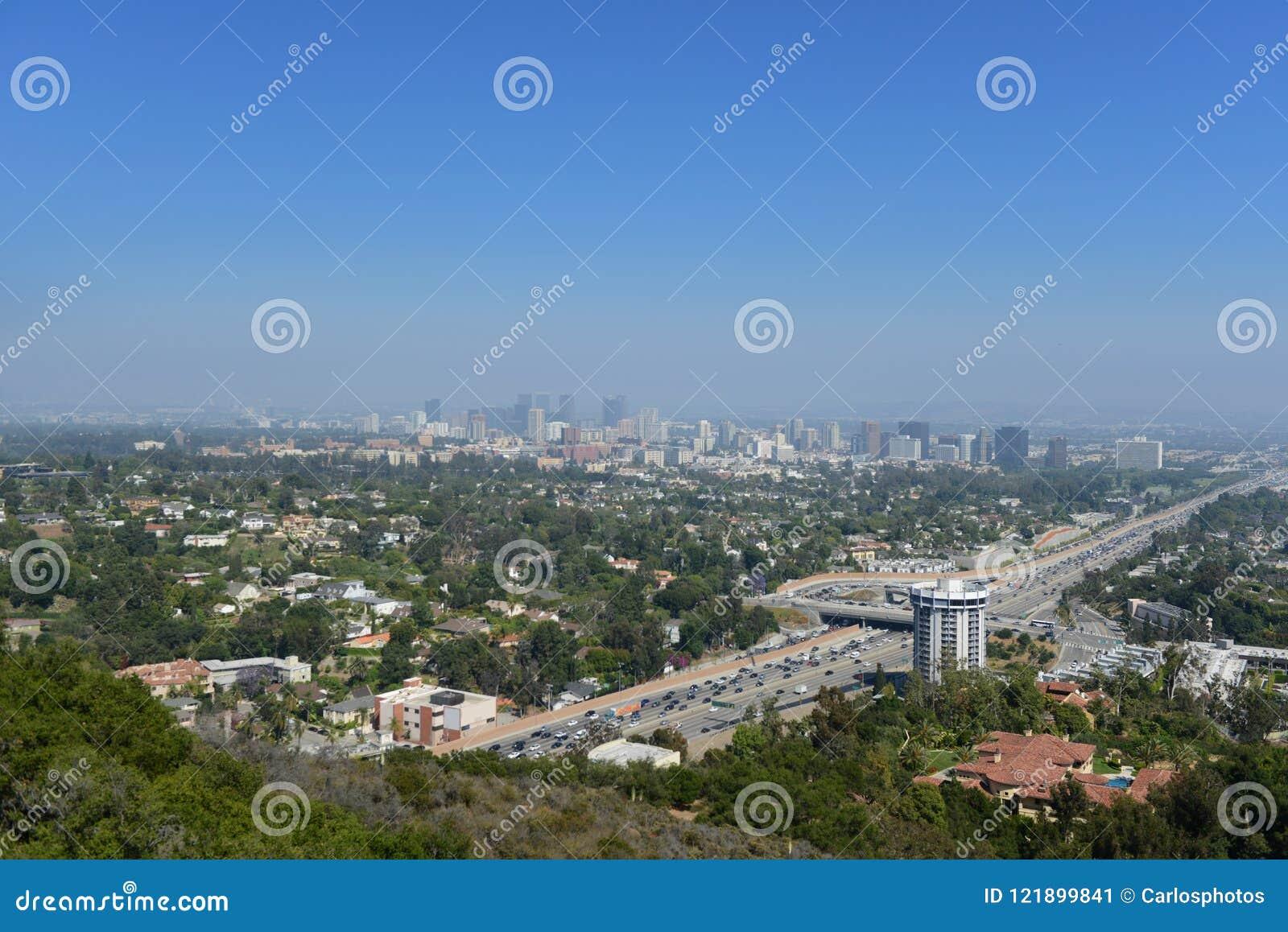 Panorama van Los Angeles