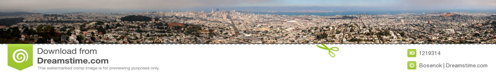 Panorama van San Francisco