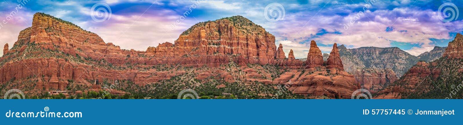 Panorama van Sedona Arizona