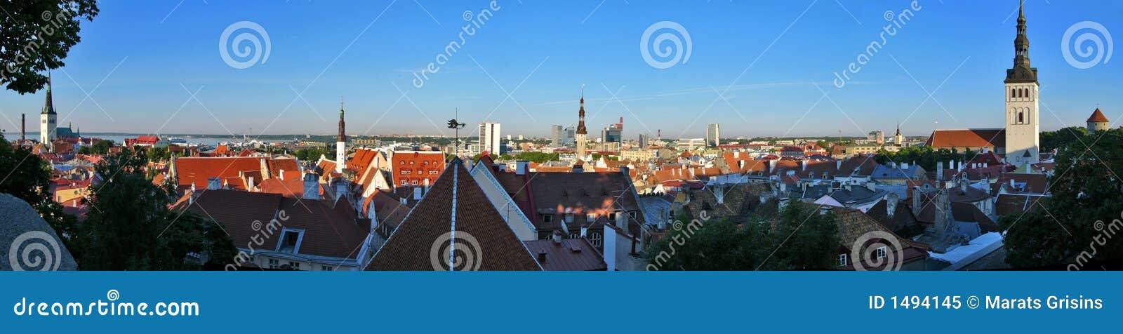 Panorama van Tallin