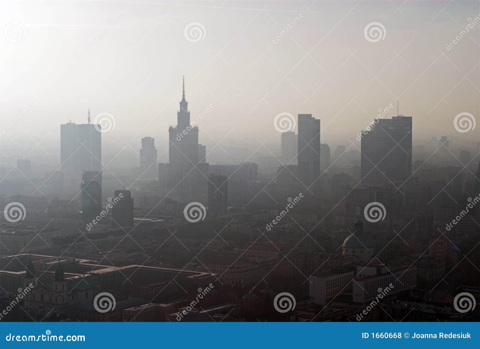 Panorama van Warshau
