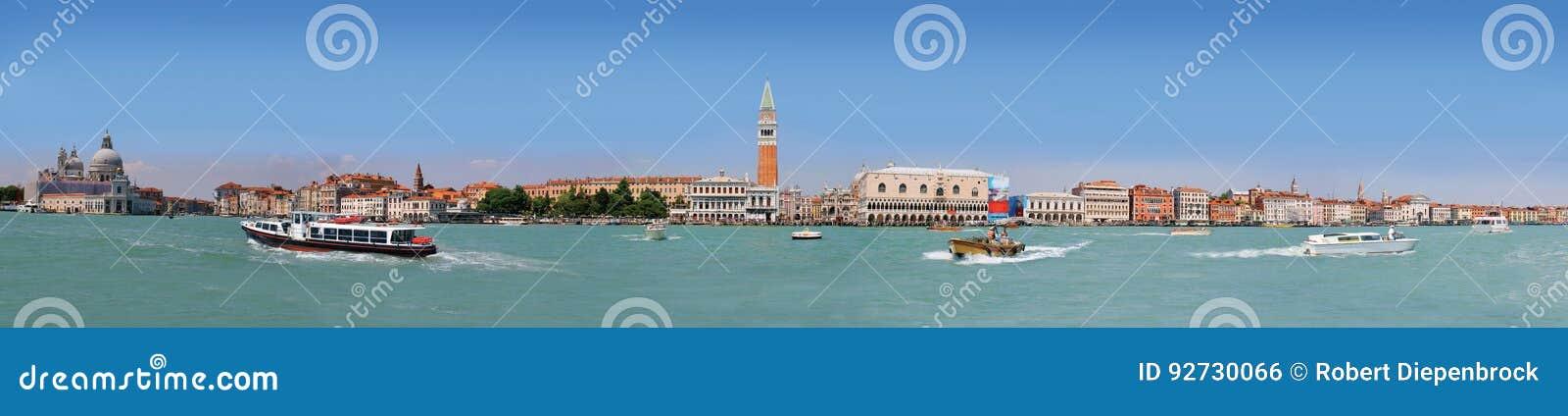 Panorama of Venice Lagoon