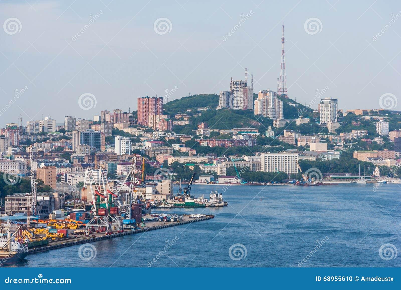 Panorama Vladivostok, federacja rosyjska