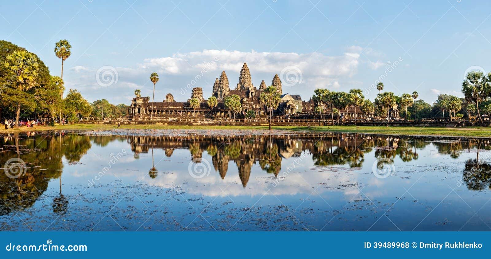 Panorama von Angkor Wat