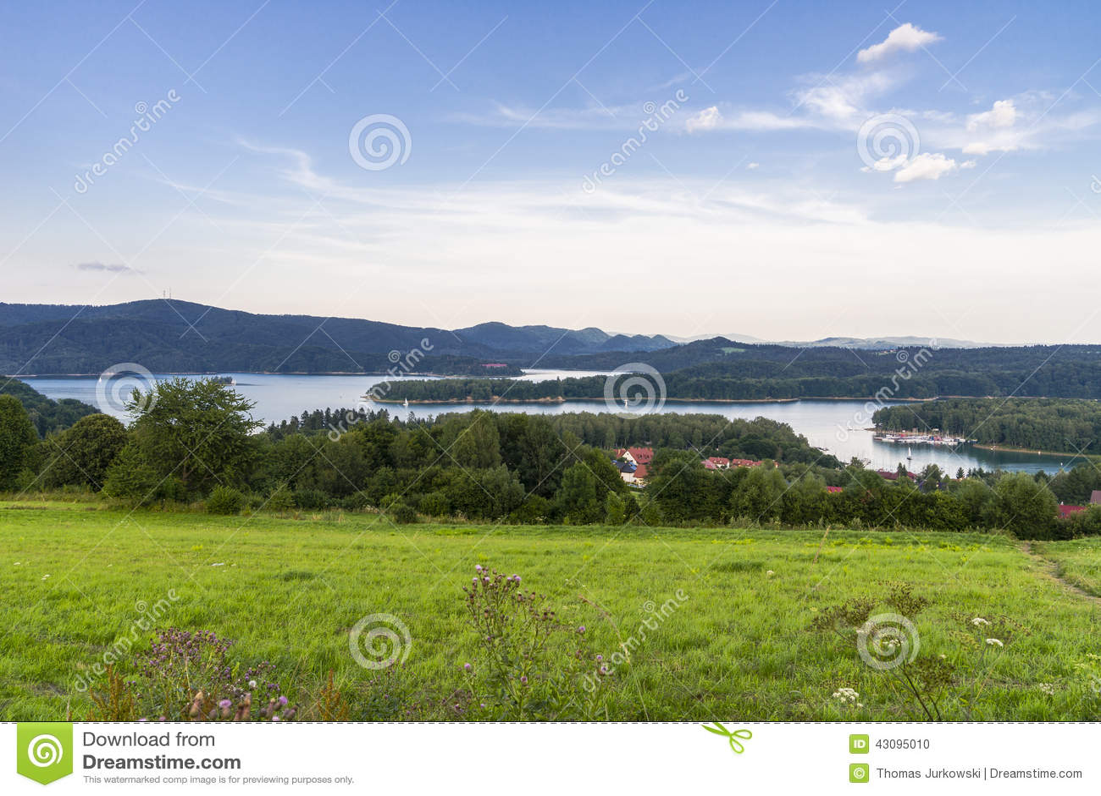Panorama von See
