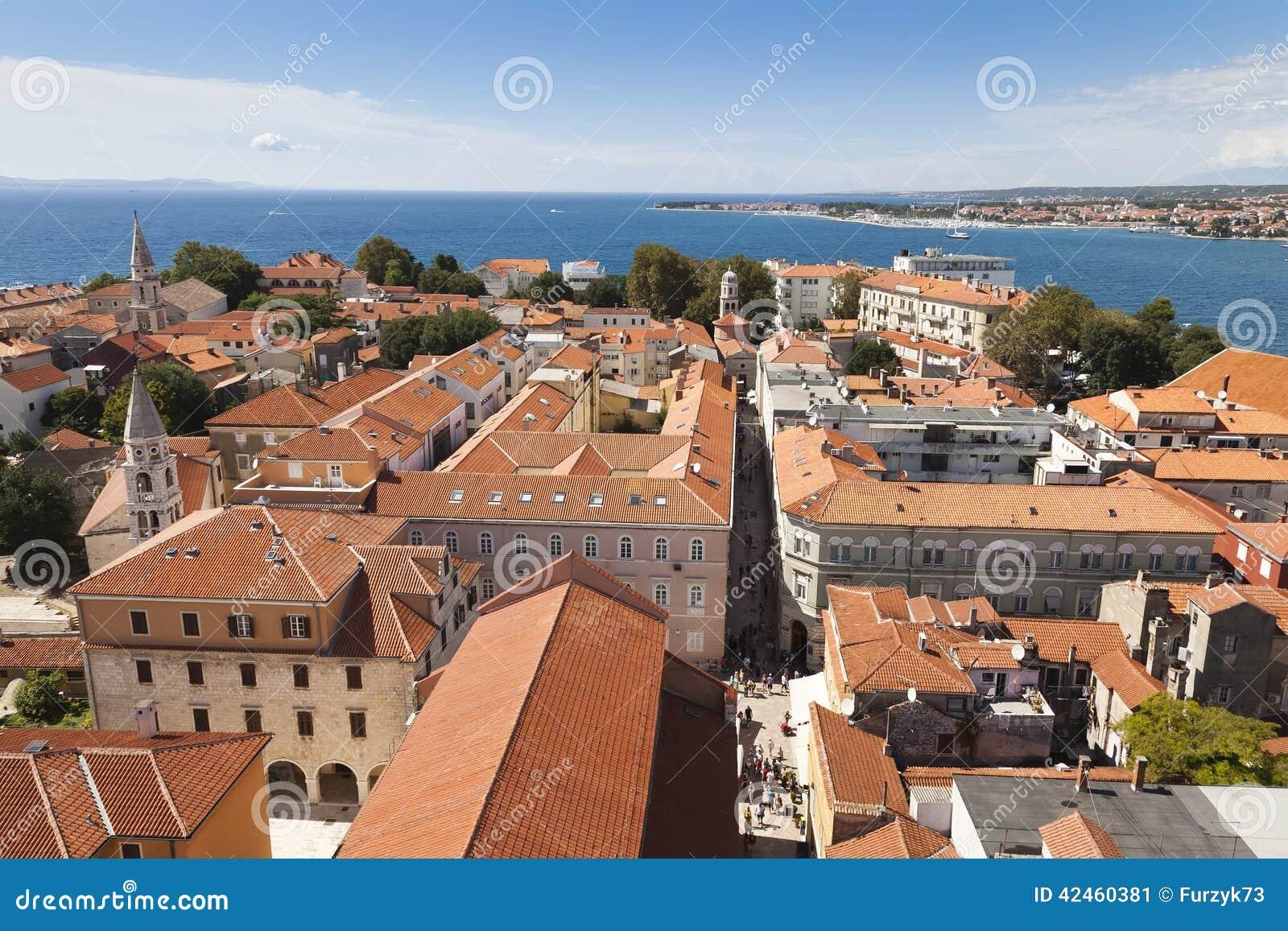 Panorama von Zadar