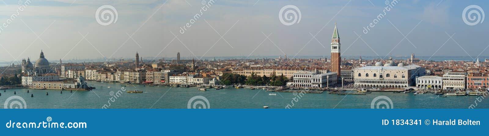 Panorama w Wenecji