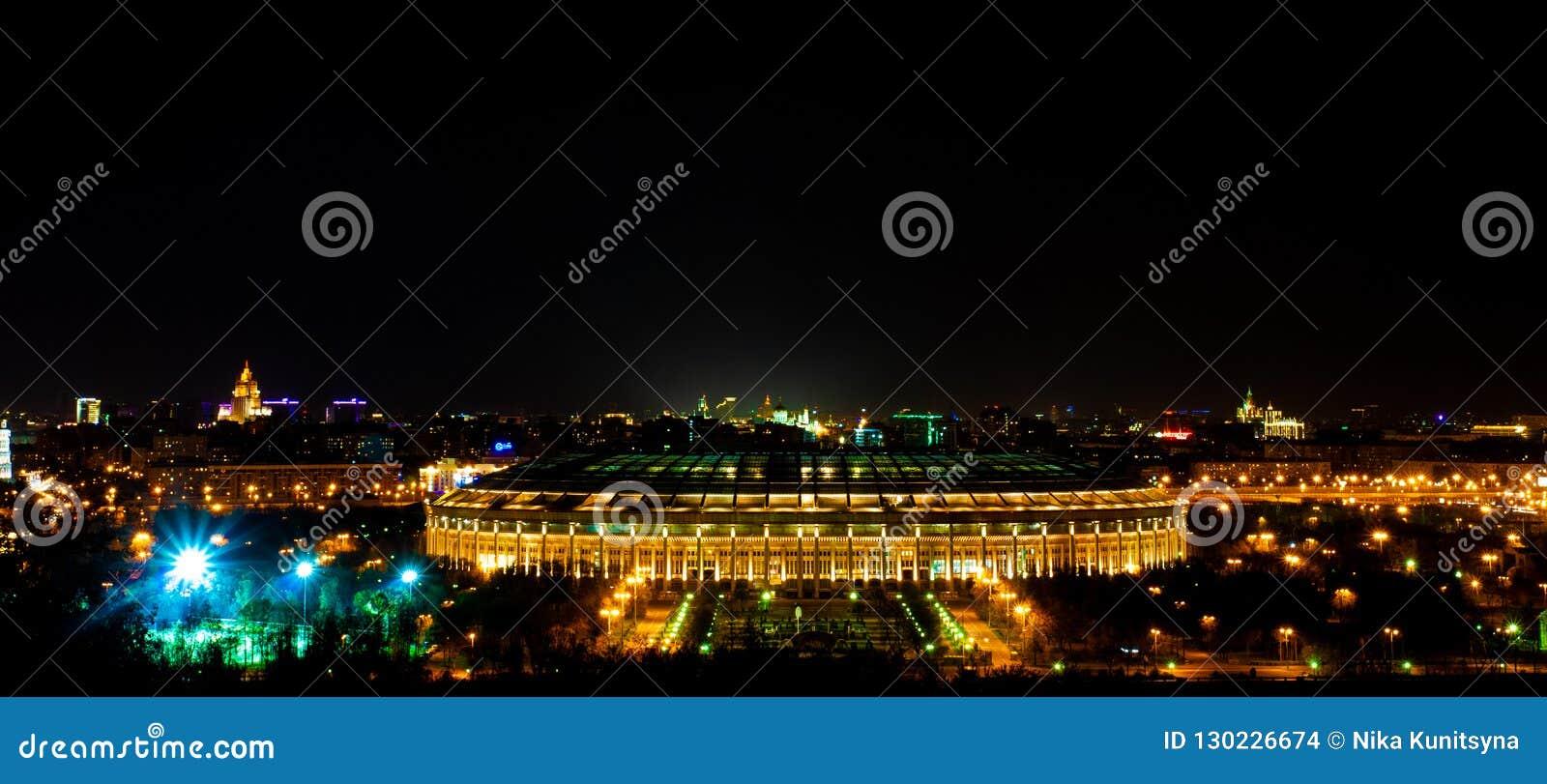 Panoramautsikt av Luzhniki stadion