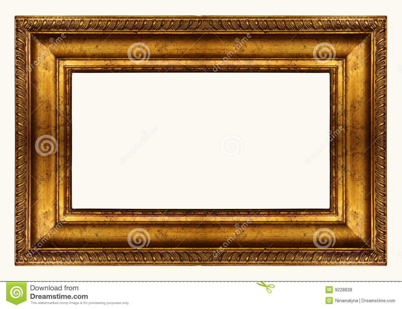 panoramic gold frame