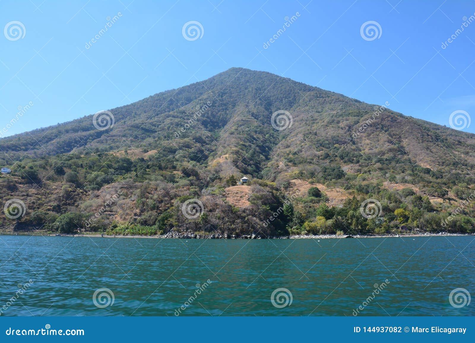 Panoramic Landscapes Atitlan Lake Guatemala