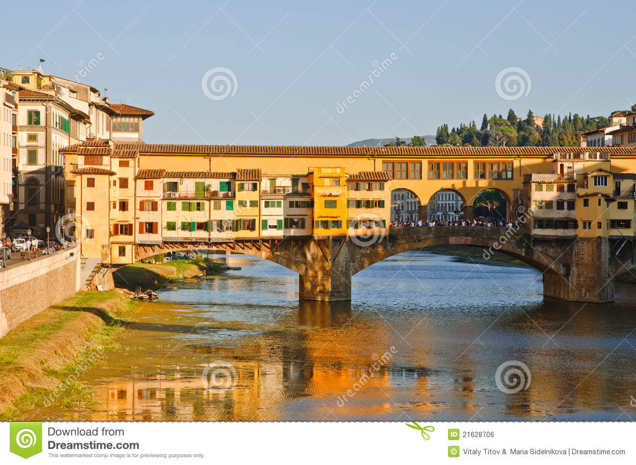 Panoramic sunset view to florence tuscany italy royalty for Is florence in tuscany