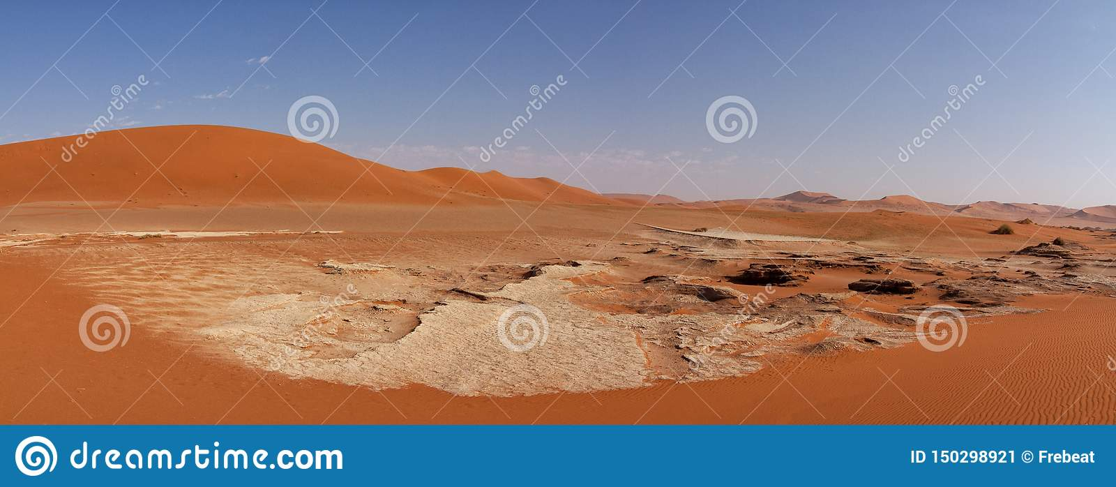 Sossusvlei panoramic view