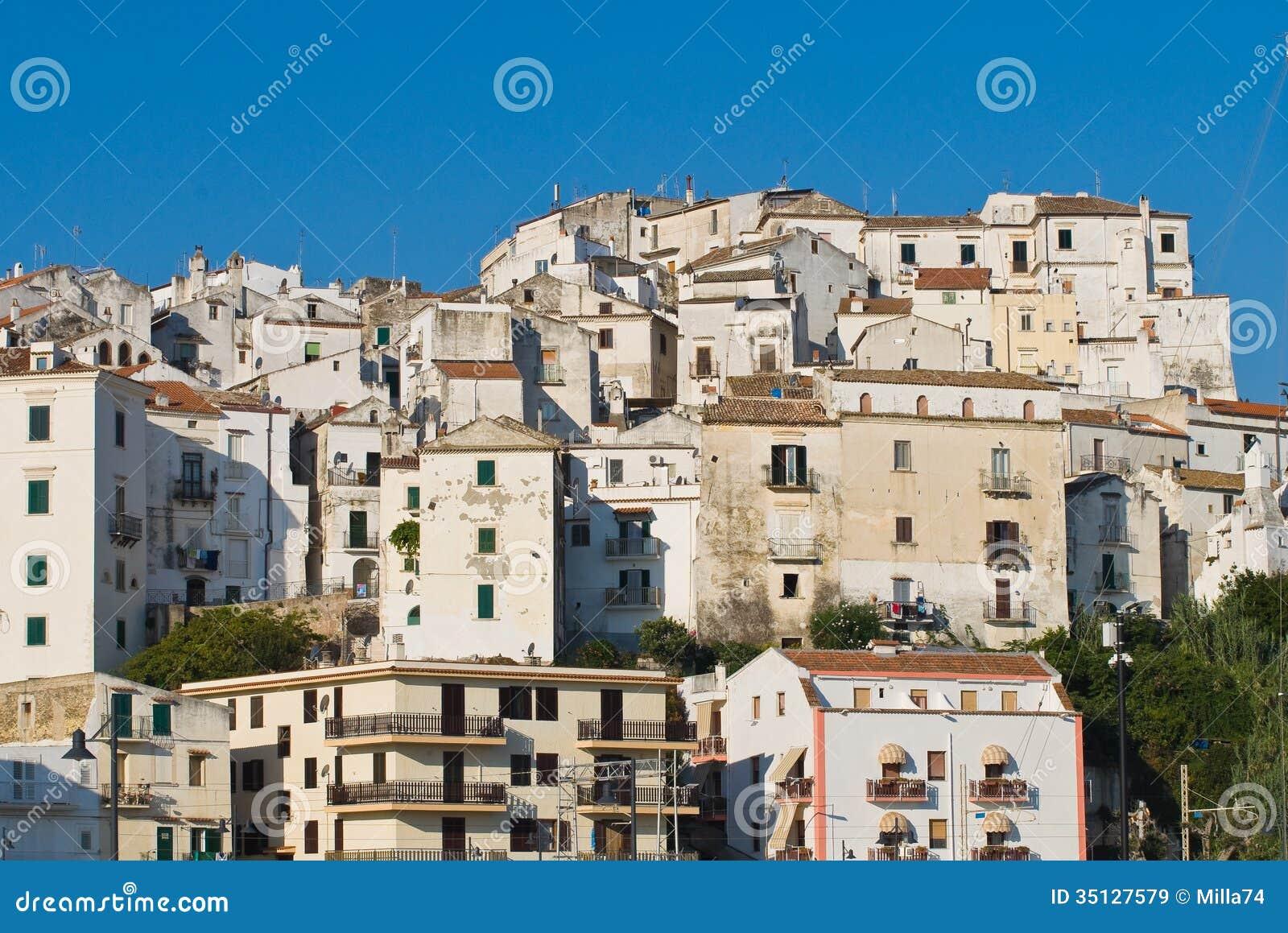 Rodi Garganico Italy  city photo : Panoramic View Of Rodi Garganico. Puglia. Italy. Royalty Free Stock ...