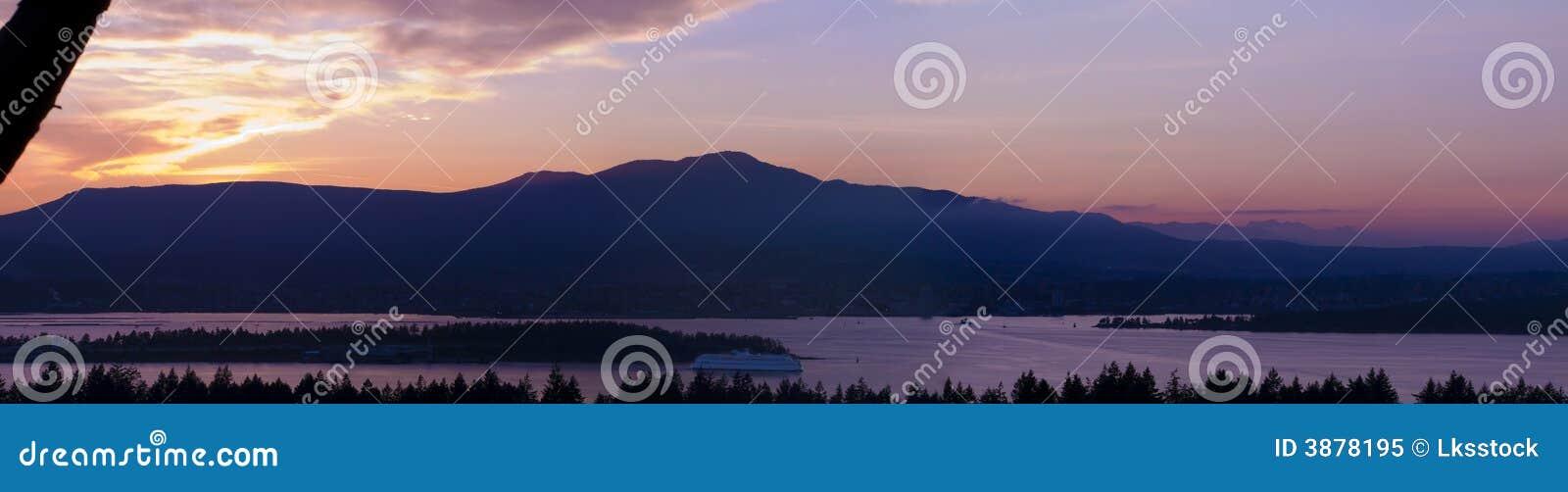 Panoramico dell isola di Vancouver