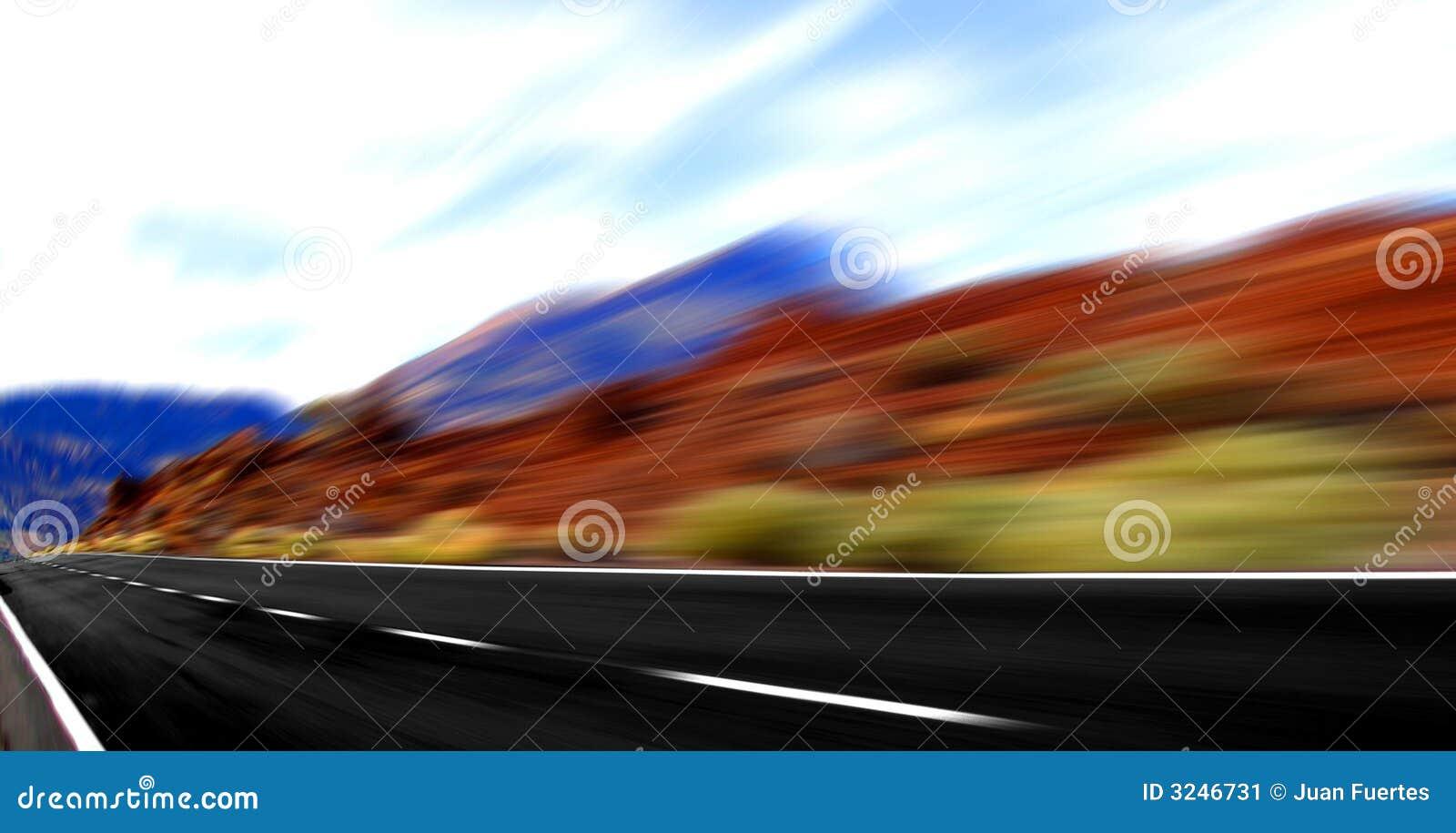 Panoramiczna prędkość.