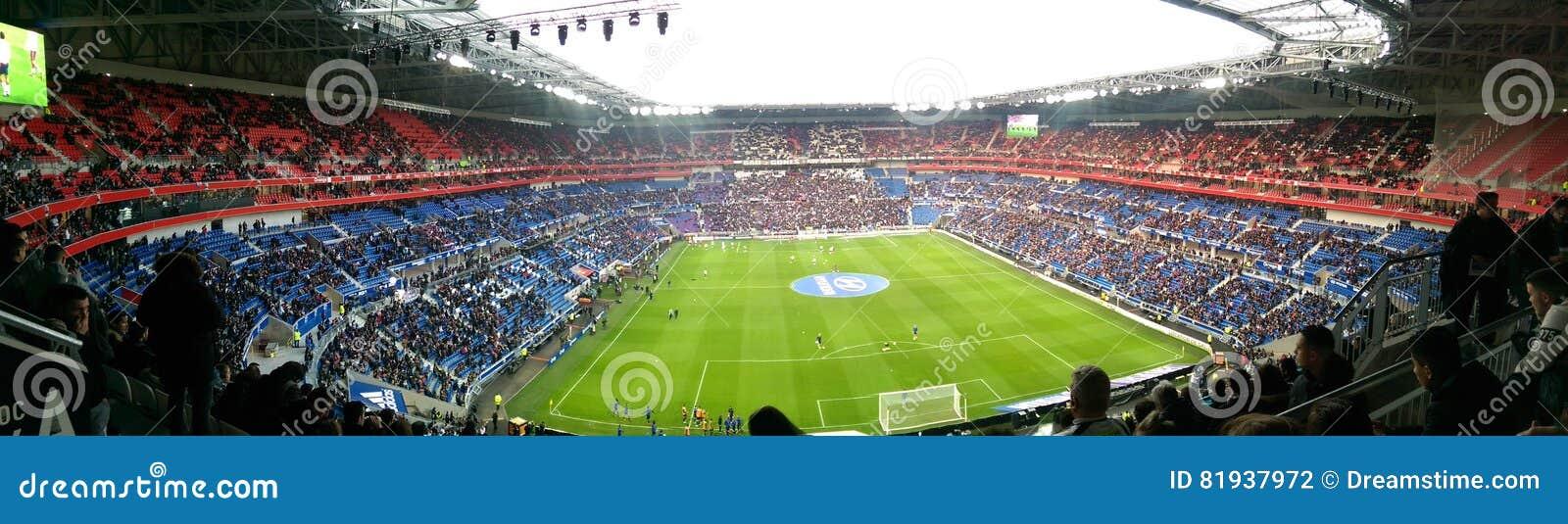 Panoramiczny widok stadium