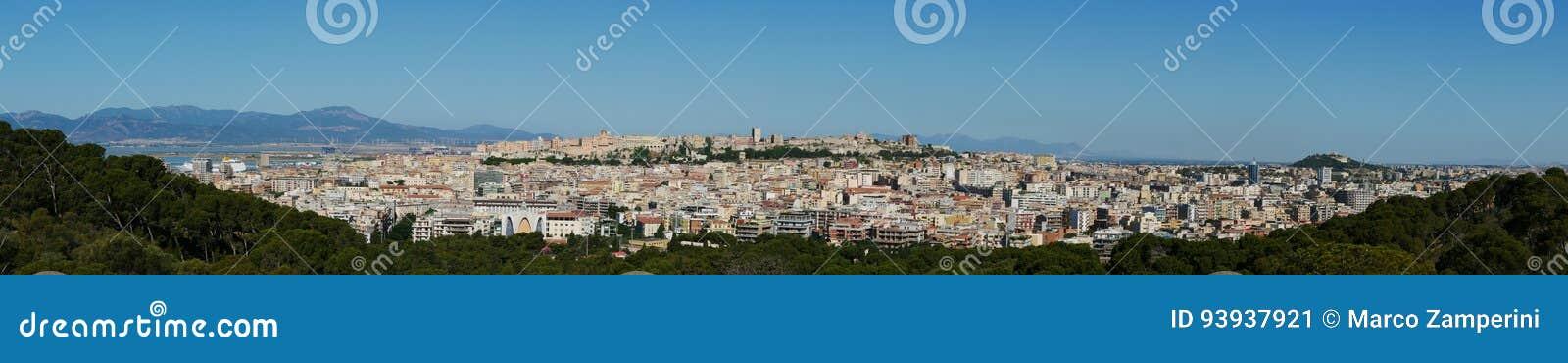 Panoramisch in Cagliari
