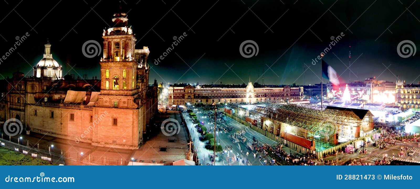 Panoramisch von Mexiko City