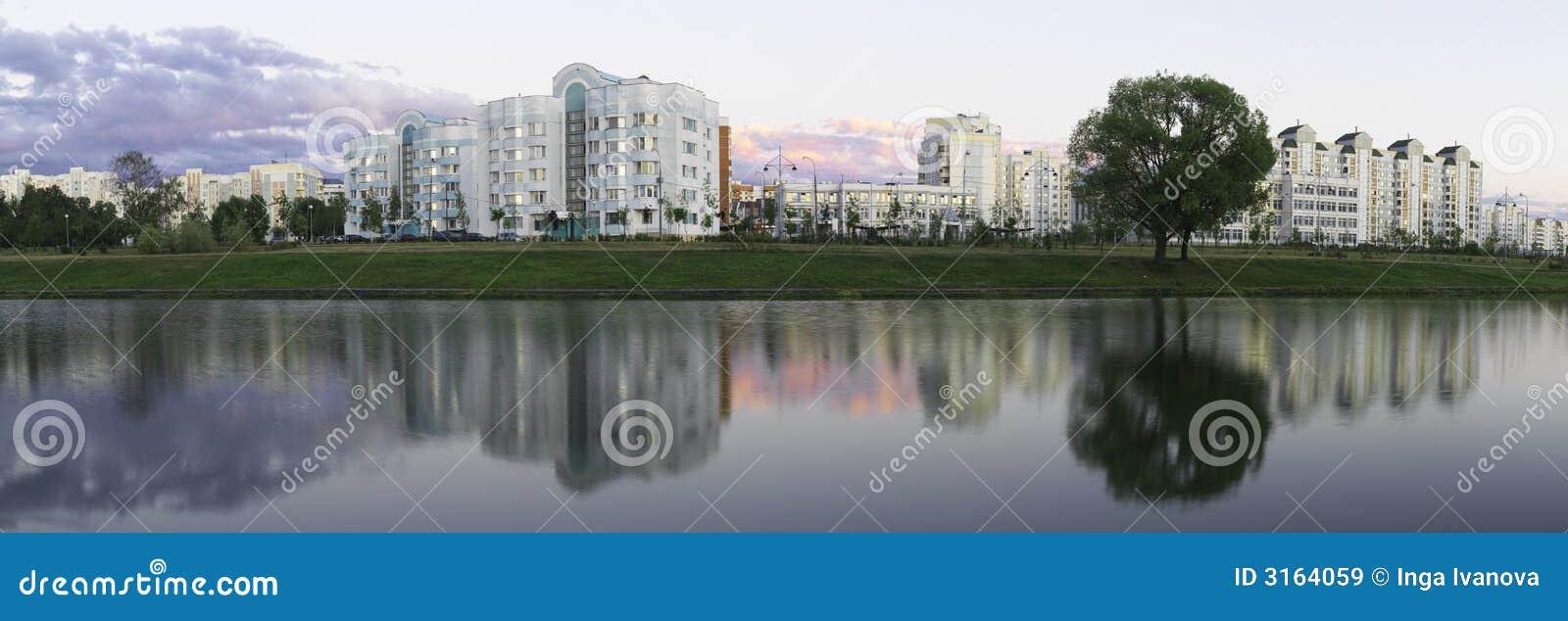 Panoramische Ansicht