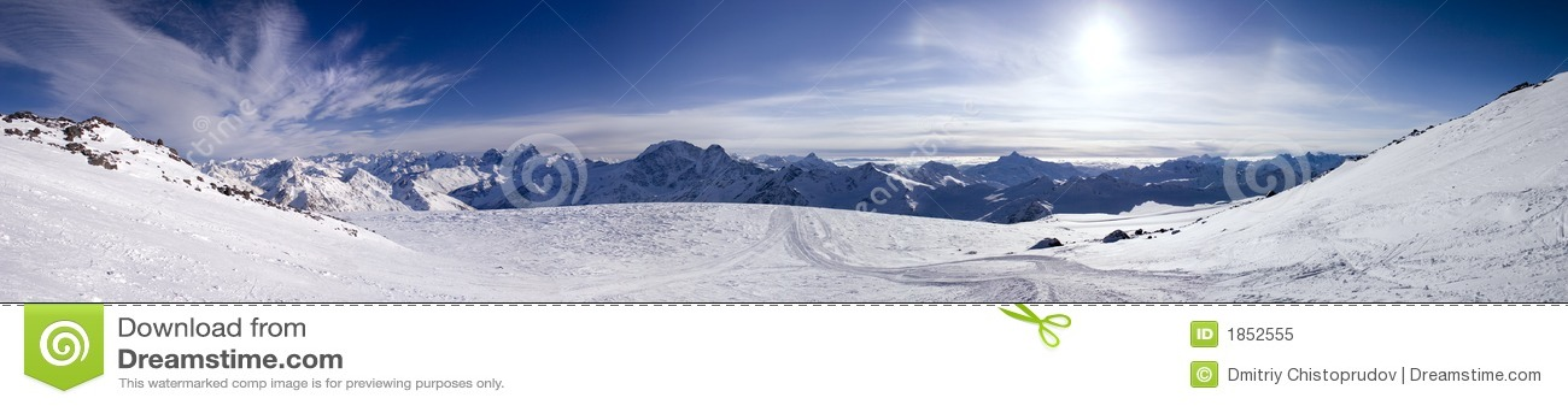 Panoramische Ansicht der Berge