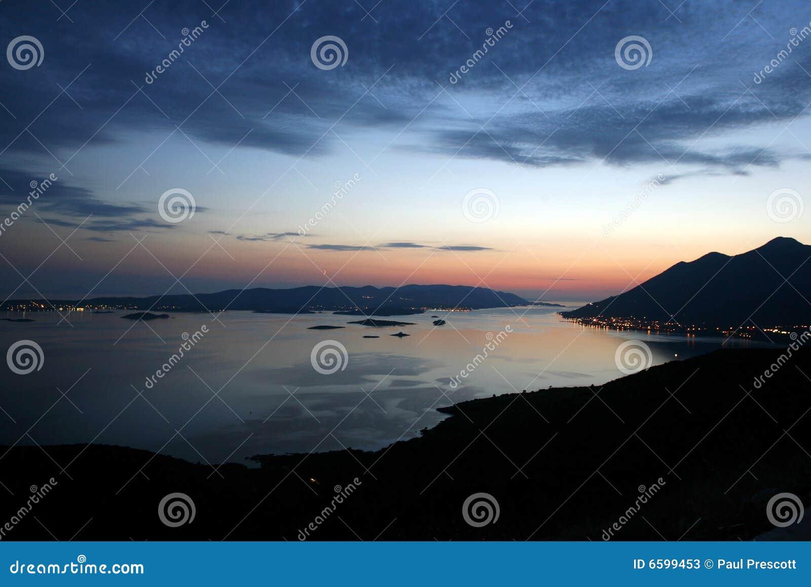Panoramische Ansicht von Orebic