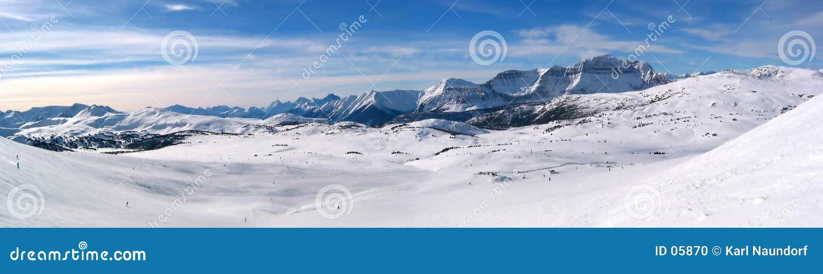 Panoramische berg