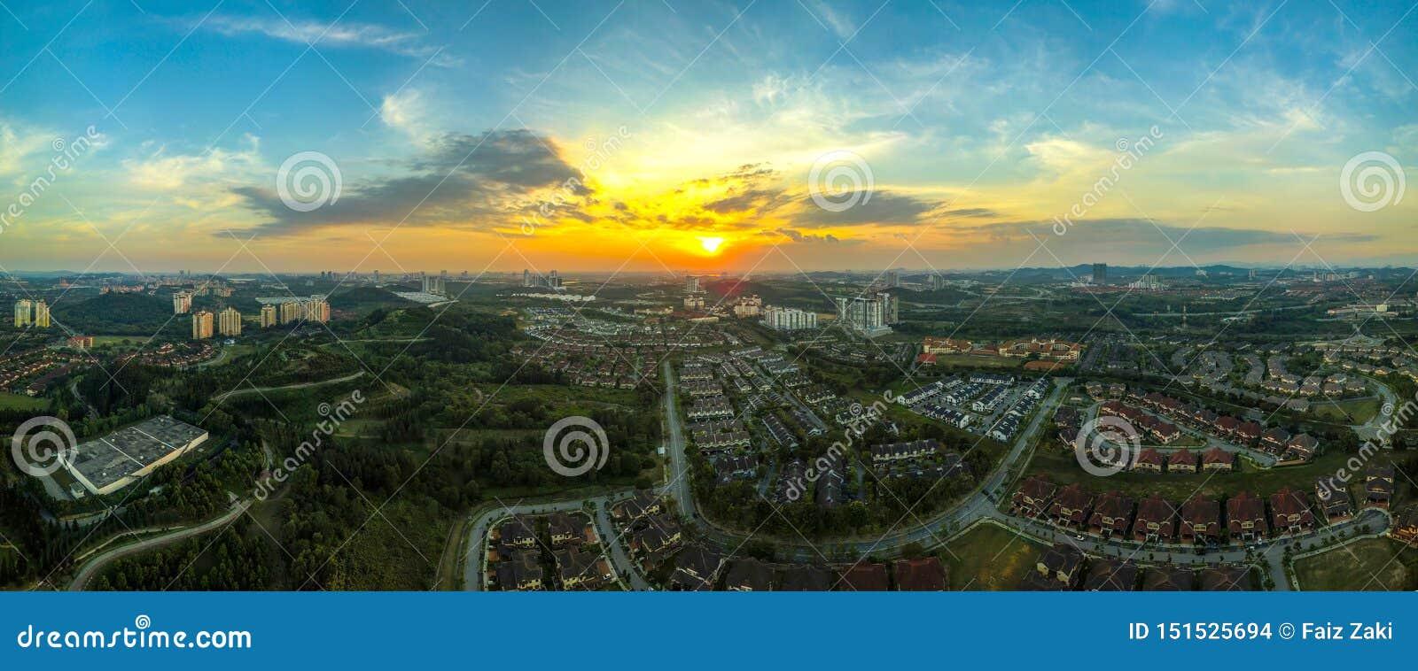 Panoramische stad van Putrajaya, Maleisië