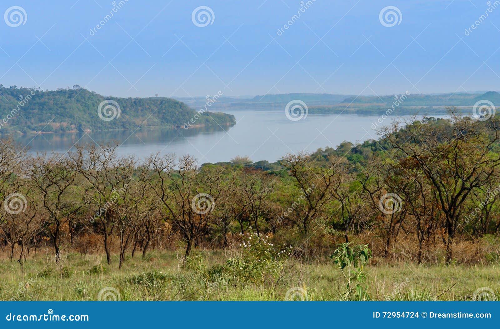 Panoramischer Punkt in Südamerika