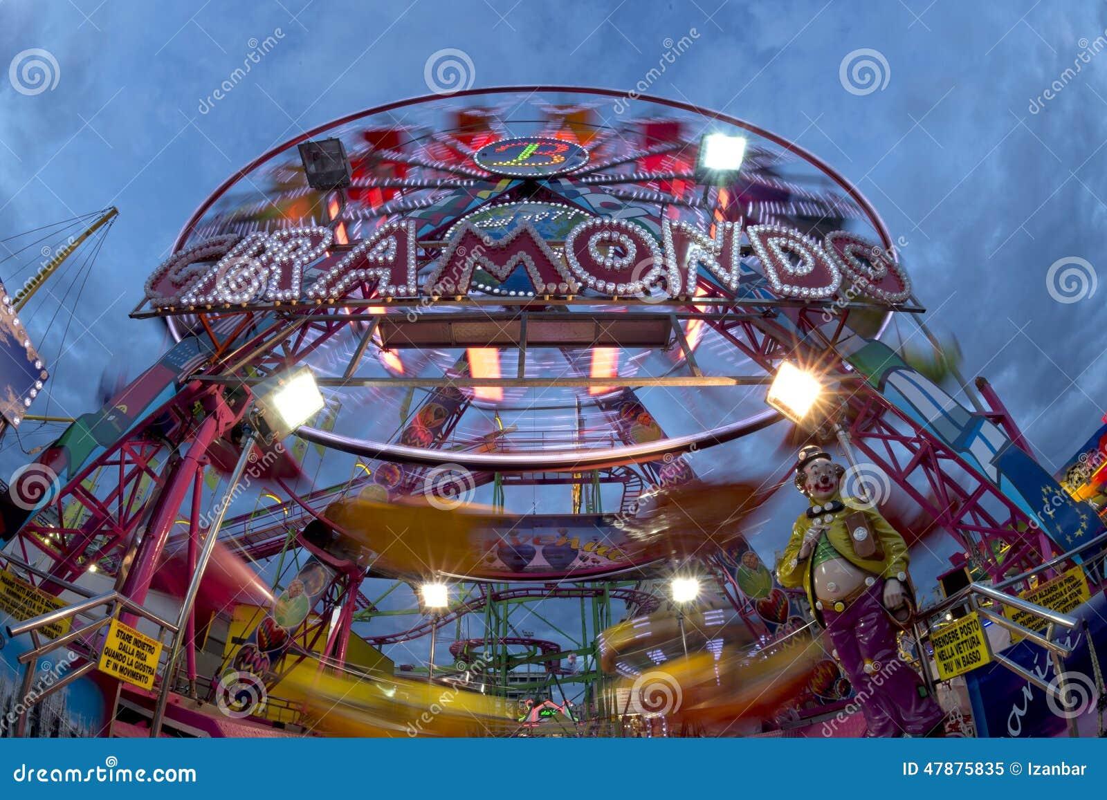 Panoramisches Rad Spaß-Messe-Karnevals-Luna Parks