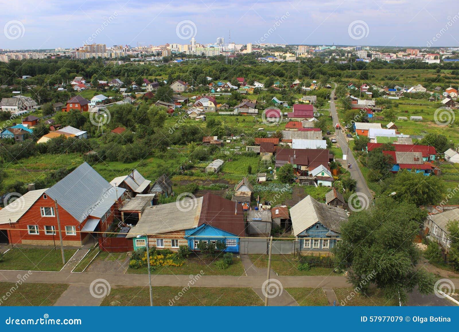 Panoramy miasto Saransk