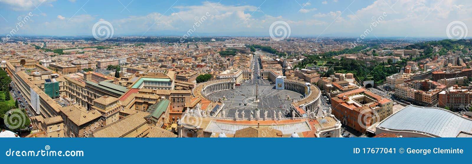 Panoramy Peter Rome s kwadratowy st