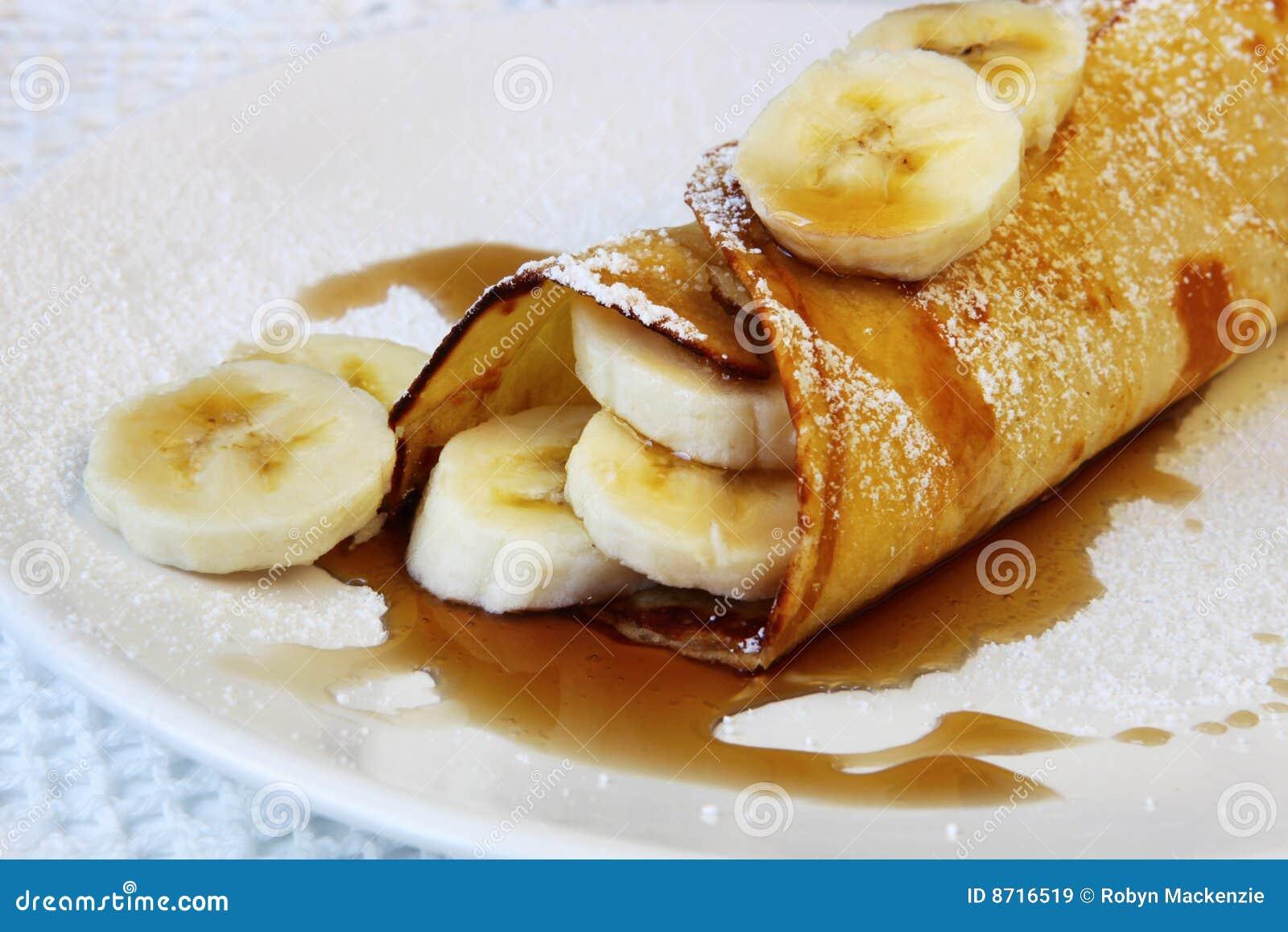 Panqueca da banana